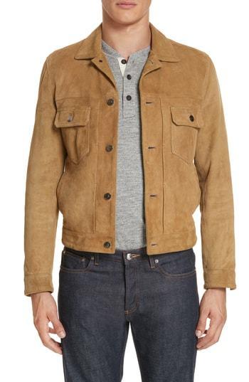f2f048d9 Eidos Suede Western Jacket, $1,695 | Nordstrom | Lookastic.com