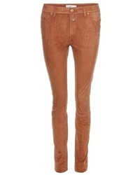 Lizzy suede skinny trousers medium 656736