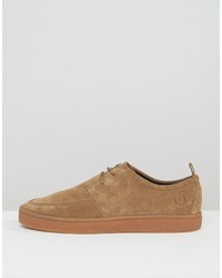 Fred Perry Shields Suede Crepe Sneakers