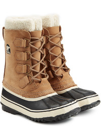 Sorel Tivoli Ii Suede And Rubber Short Boots