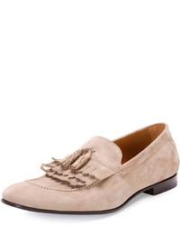 Suede tri kiltie tassel loafer medium 397779