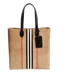 Tan Suede Tote Bag