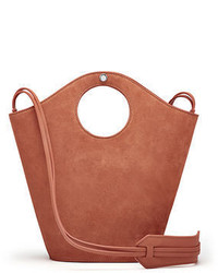 Elizabeth and James Market Small Suede Shopper Tote Bag