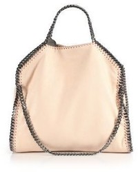 Stella McCartney Shaggy Deer Falabella Fold Over Small Tote