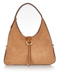 River Island Tan Hoop Slouch Handbag