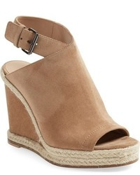 Vince Evangeline Open Toe Wedge Sandal