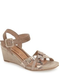 Inex quarter strap wedge sandal medium 632601