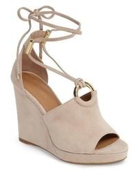Calvin Klein Ramona Wraparound Wedge Sandal