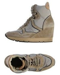 Voile Blanche High Tops Trainers