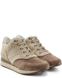 Suede sneakers with small wedge medium 721076