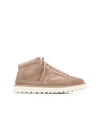 Marsèll Flat Lace Up Boots