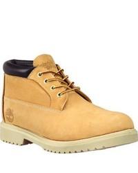 Timberland Classic Tbl Chukka Wheat Nubuck Leather Boots
