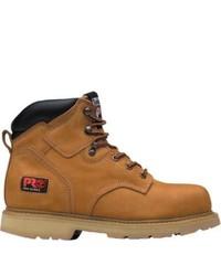 Timberland Pit Boss 6 Soft Toe Wheat Nubuck Boots