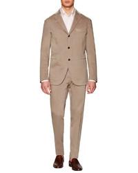 Boglioli Cotton Stretch Dover Suit