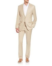 Saks Fifth Avenue Collection Basic Wool Blend Suit