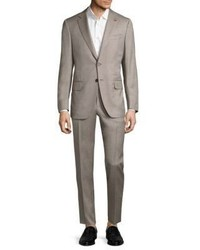 Isaia Regular Fit Buttoned Suit