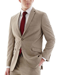 Adolfo Tan Suit Jacket Slim
