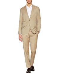 Wool Notch Lapel Suit