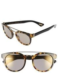 Lanvin 50mm Round Sunglasses