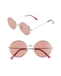BP. 53mm Flat Round Sunglasses