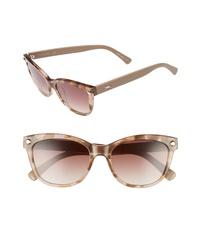 Longchamp 53mm Gradient Lens Cat Eye Sunglasses