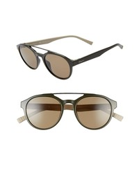 Salvatore Ferragamo 53mm Round Sunglasses