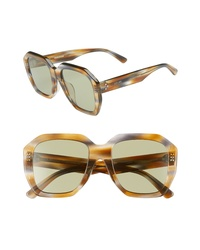 Celine 53mm Square Sunglasses