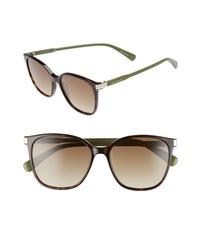 Longchamp 54mm Square Sunglasses