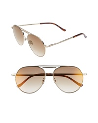 CUTLER AND GROSS 56mm Polarized Aviator Sunglasses