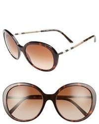 Burberry 57mm Sunglasses Bordeaux