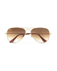 Ray-Ban Aviator Gold Tone Sunglasses