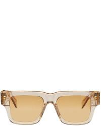 RetroSuperFuture Beige Mega Sunglasses