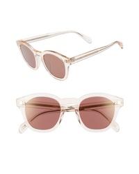 Oliver Peoples Boudreau La 48mm Square Sunglasses