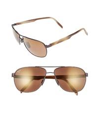 Maui Jim Castles Polarizedplus2 61mm Aviator Sunglasses