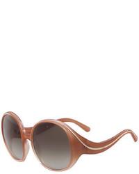 Chloé Chloe Nell Round Sunglasses