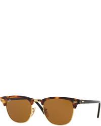Clubmaster havana sunglasses brown medium 592244