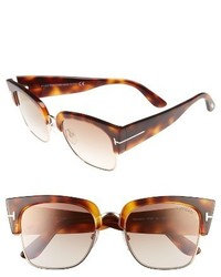 Tom Ford Dakota 55mm Retro Sunglasses