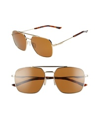 Smith Double Down 58mm Chromapop Polarized Navigator Sunglasses