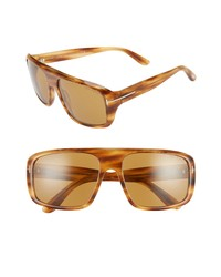 Tom Ford Duke 59mm Square Sunglasses