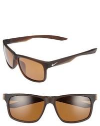 Nike Essential Chaser 59mm Polarized Sunglasses Matte Black