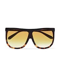 Loewe Filipa Oversized D Frame Tortoiseshell Acetate Sunglasses