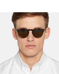 Oliver Peoples Gregory Peck round frame sunglasses Sale Ebay Clearance 2018 Limited Edition Cheap Online Outlet Low Shipping Outlet Finishline aimqIW
