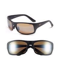 Maui Jim Haleakala 66mm Polarizedplus2 Polarized Wrap Sunglasses