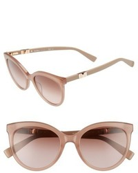 Max Mara Jeweliis 54mm Gradient Cat Eye Sunglasses