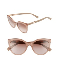 Max Mara Jeweliis 54mm Gradient Cat Eye Sunglasses