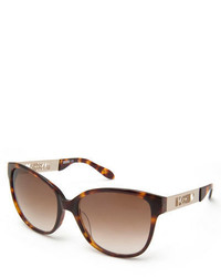 Moschino Laser Cut Gradient Cat Eye Sunglasses