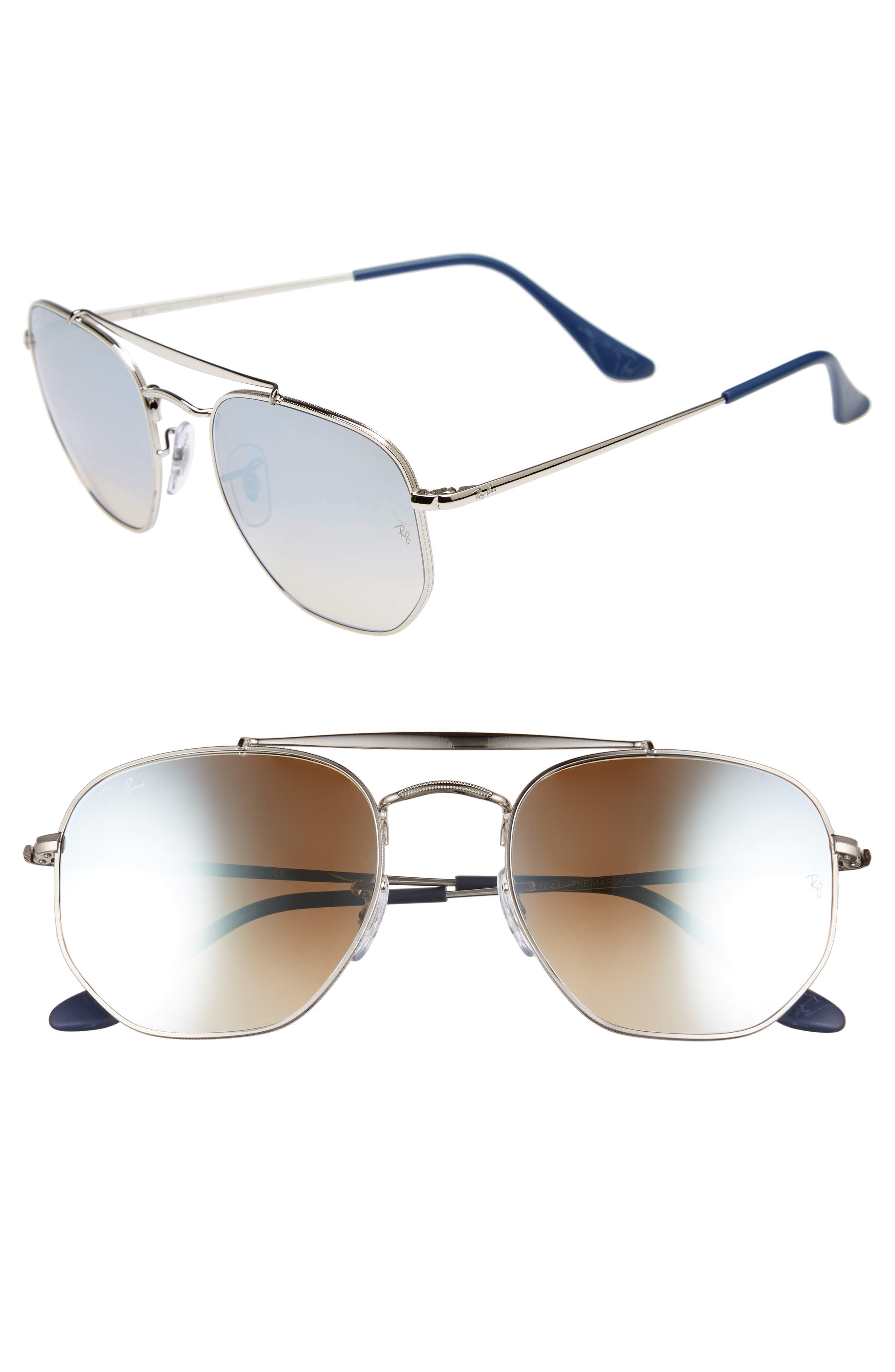 c98e31dca9f2a ... Ray-Ban Marshal 54mm Aviator Sunglasses