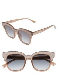 Jimmy Choo Mayelas 50mm Cat Eye Sunglasses