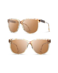 Shwood Mckenzie 57mm Polarized Sunglasses