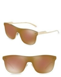 Dolce & Gabbana Mirorred Shield Sunglasses